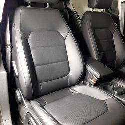 Перетяжка сидений в экокожу VW Passat