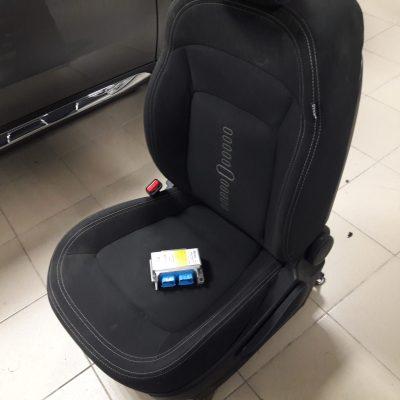 Ремонт сидений после ДТП. Прошивка блока AirBag