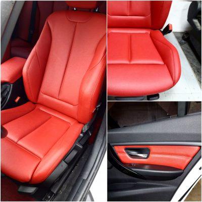 Перетяжка сидений BMW3