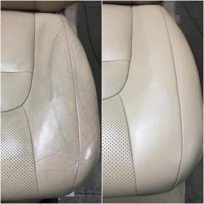 Ремонт и реставрация кожи сидений