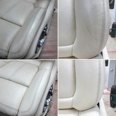 Ремонт и реставрация кожи сидений машины