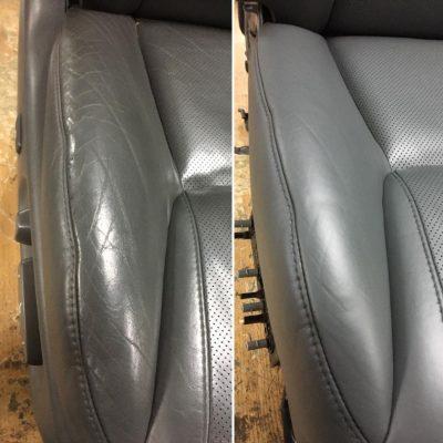 Ремонт и реставрация кожи боковых вставок
